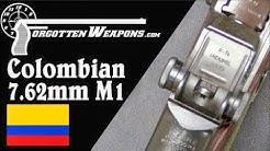 Colombian 7.62mm NATO M1 Garand Conversion