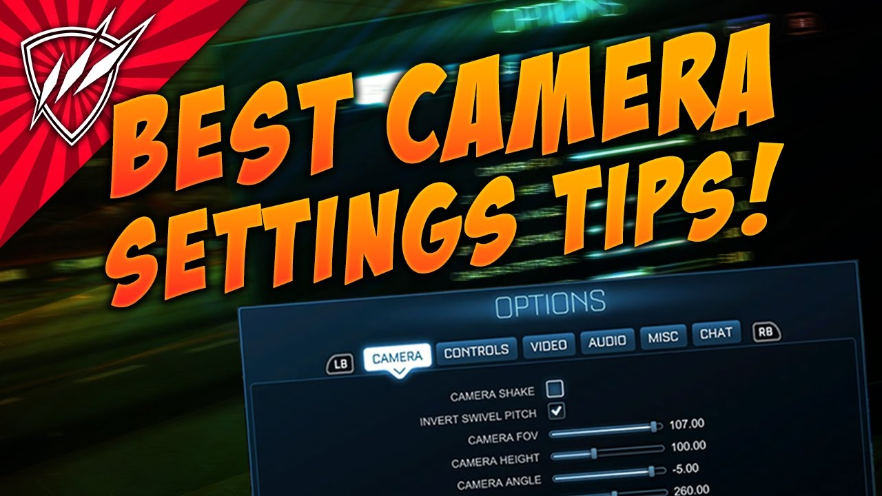 Squishy Muffinz New Camera Settings : BEST CAMERA SETTINGS Rocket League Tutorial - YouTube