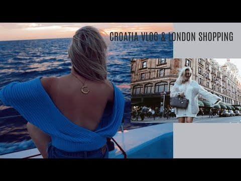 CROATIA VLOG & LONDON SHOPPING  IAM CHOUQUETTE