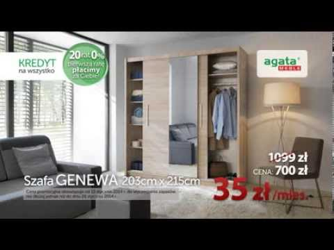 Agata Meble Pierwszą Ratę Płacimy Za Ciebie Szafa Genewa