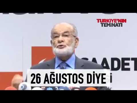 Saadet Partisi Lideri Temel Karamollaoğlu'nun Efsane Konuşması