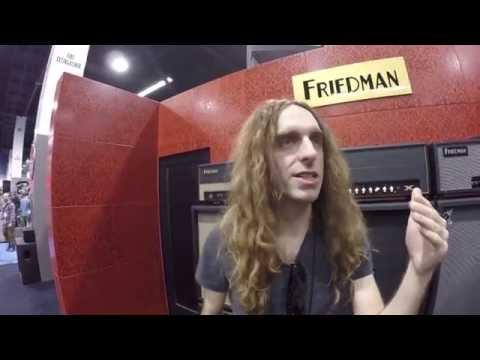 NAMM 2015 - Nick Johnston Interview at Friedman Amps | GEAR GODS