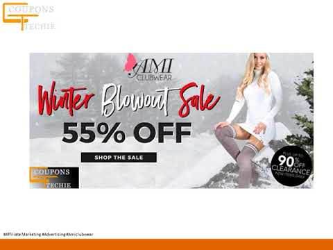 amiclubwear Discount Coupons, offers, Promo codes, hot deals, on Christmas shopping