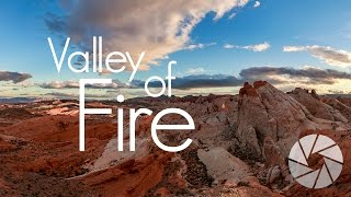 Telephoto Sunset in Valley of Fire State Park | Landscape Photography Travel Vlog