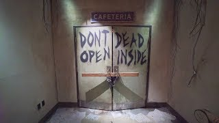 Walking Dead attraction at Halloween Horror Nights Universal Studios Hollywood