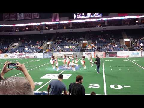 Texas Revolution Dancers Halftime 2/15