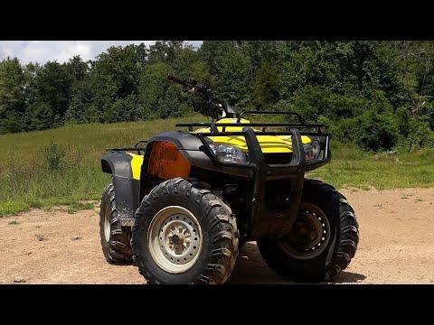 Honda rancher 350 GOON RIDING!