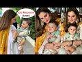 Sania Mirza And Shoaib Malik Son Izhaan Celebration First Eid 2019