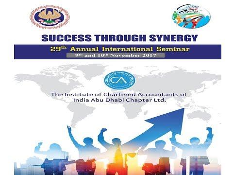 29th ICAI Abu Dhabi Chapter 2017