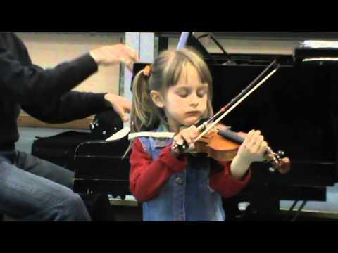Suzuki violin book 1: Song of the Wind