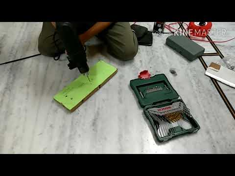 Unboxing and review of Visko Impact Z1J-13/300 pistol grip drill machine
