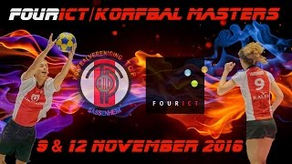 FourICT/Korfbal Masters; woensdag 9 november 2016