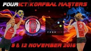 FourICT/Korfbal Masters; woensdag 9 november 2016