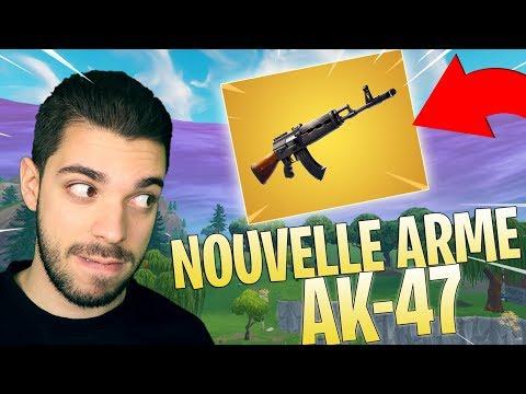 LA NOUVELLE ARME ( AK ) EST MONSTRUEUSE SUR FORTNITE - TOP 1 GAMEPLAY