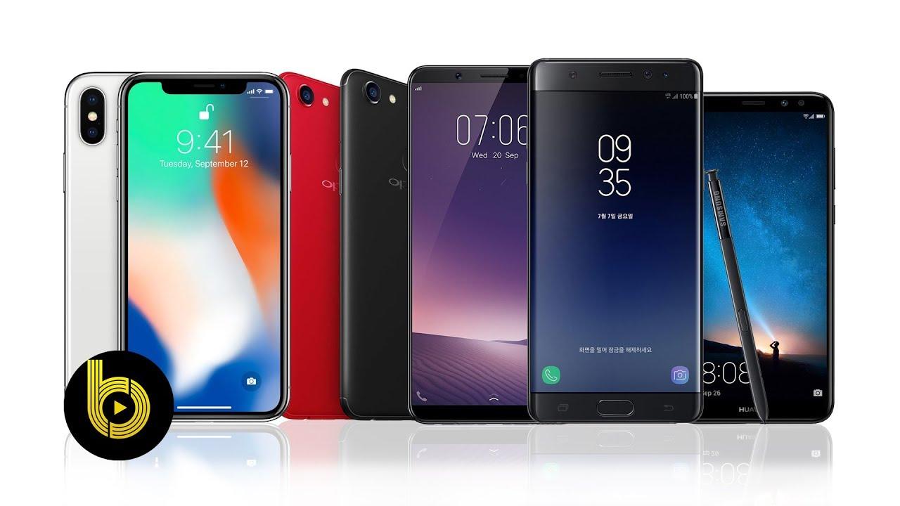 TOP 5 smartphone chính hãng giá từ 5 triệu đáng mua nhất trong cuối năm  2017 - Bchannel