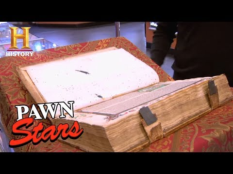 Best of Pawn Stars: Incunable Book | History