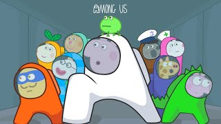 Peppa Among Us Season 1 - Full Animation