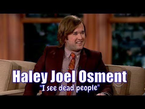 "Haley Joel Osment - The ""I See Dead People"" Kid From The 6th Sense"