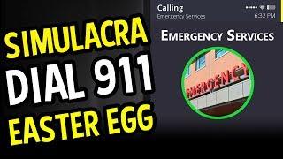 SIMULACRA Easter Egg (Horror) - Dial 911 Easter Egg - (Simulacra Gameplay)