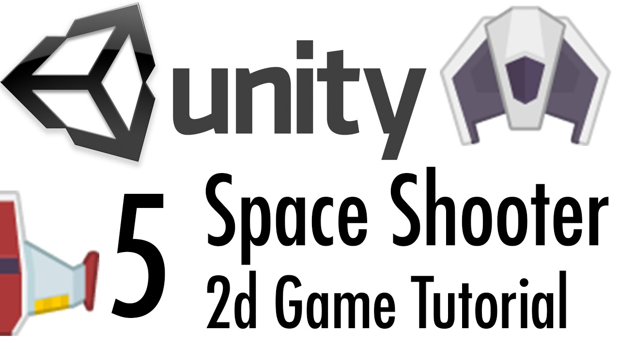 Unity Tutorial: 2D Space Shooter - Part 5 - Shooting and AI
