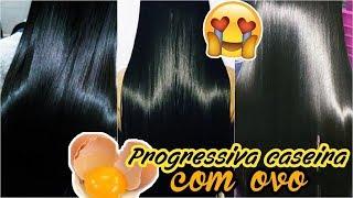 Receita de Progressiva Caseira com Ovo