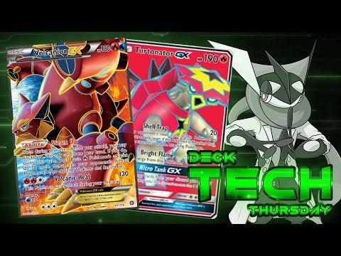 Pokémon TCG Deck Profile - Volcanion EX/Turtonator GX! | Deck Tech Thursday #61!