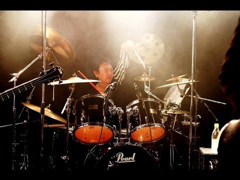 演奏の限界に挑戦 人力ディレイ ドラムソロ LIVE録音 和也Rainbow