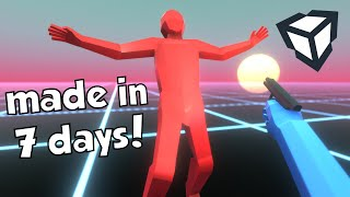 I Learned How to Make 3D Games in One Week