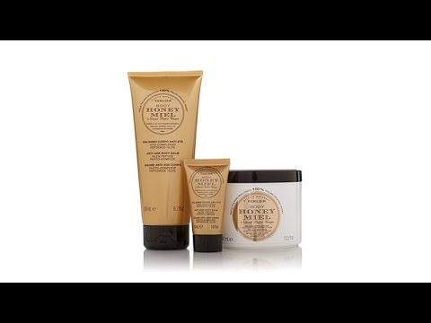 Perlier Honey AntiAging Body Balm 3piece Set