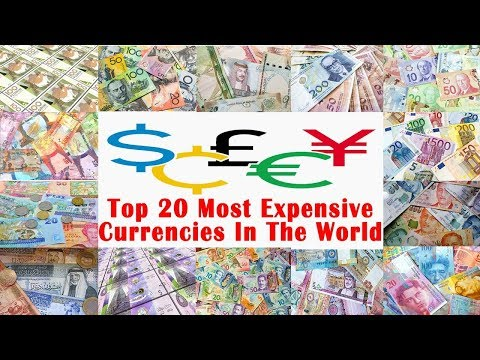 Top 20 Most Expensive Currencies In The World
