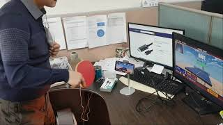 스마트폰 미러링 케이블 연결