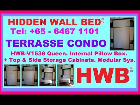 Terrasse condo hwb queen pillowbox cabinets hub showflat for Beauty queen kitchen cabinets