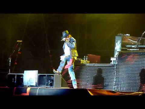 Guns N' Roses – Welcome to the Jungle (Gods Of Metal, Milan, 22.06.2012)