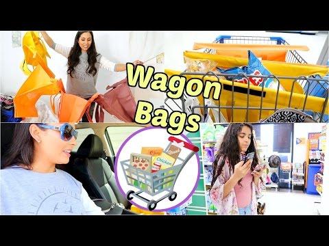 Compras en Walmart Usando Las Wagon Bags - Mayo 17,  2017  ♡IsabelVlogs♡