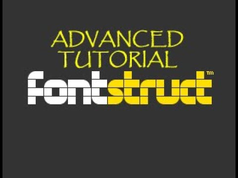 Fontstruct Advanced Tutorial