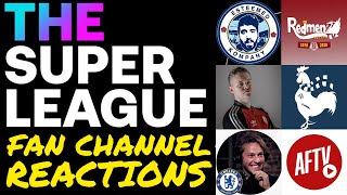 FAN CHANNELS REACT TO EUROPEAN SUPER LEAGUE