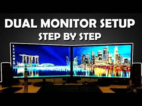 Dual Monitor Setup Step by Step Tutorial [HINDI] How To Run Dual Monitor Setup for Streaming/Gaming thumbnail