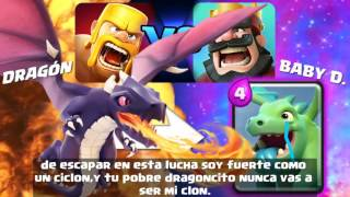 ¡Clash of Clans VS Clash Royale! RAP !coyote gaymeri