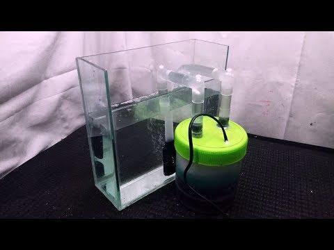 DIY External Aquarium Filter Using A Jar