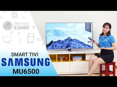 Smart Tivi Cong Samsung 4K MU6500 (49 Inch, 55 Inch, 65 Inch)