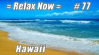 HONOLULU Sandy Beach Oahu #77 Beaches Ocean Waves Hawaii beach shore HD video relaxing sounds wave