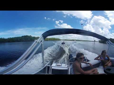 Hurricane FunDeck 226 OB 360 VR Test Ride: Tubing