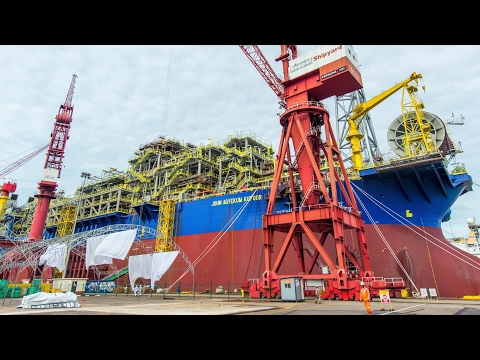 FPSO John Agyekum Kufuor - OCTP Project | Eni Video Channel