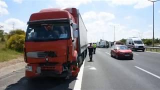 TEM'de Feci Kaza 5 Kişi Öldü