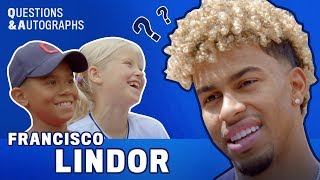 """""""Which teammate's locker smells the worst?"""" I Indians' Francisco Lindor on Questions &  Autographs"""