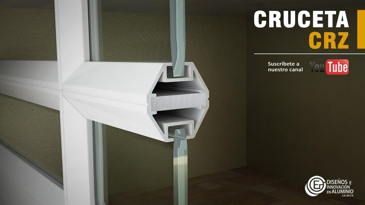 Cómo instalar la cruceta para Cuadricula CRZ - YouTube