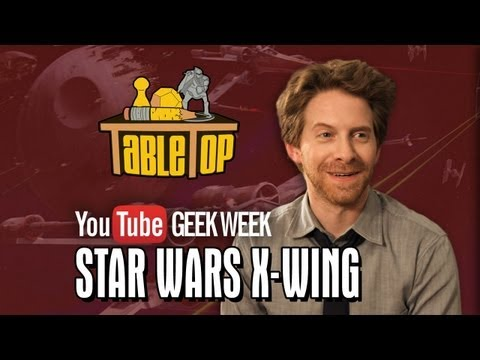 Star Wars X-Wing: Seth Green, Clare Grant, and Mike Lamond Join Wil on TableTop SE2E09
