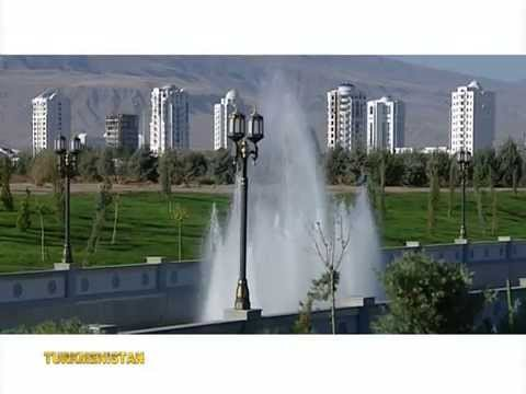 Ashgabat - capital city of Turkmenistan