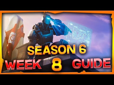 Fortnite Season 6 Week 8 Challenges Guide And Locations