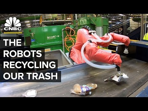 Why The United States Is Turning To Recycling Robots